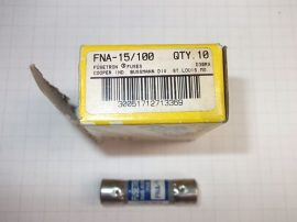 Biztosíték 10,3x38 mm, 0,15A 250VAC, Bussmann Fusetron FNA-15/100, D30RX
