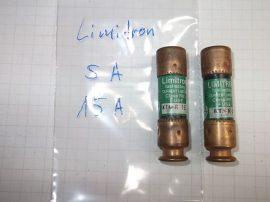 Biztosíték 14,5x50,8 mm (14x51mm), 15A 250 VAC, Bussmann Limitron KTN-R-15 RK1