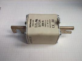 Biztosíték késes, 200A 1000VAC, NH3, aR gyors, félvezetőkhöz, Siemens 3NE3 225 aR, SITOR