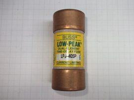 Biztosíték 27x60,4 mm (27x60mm), 40A 600VAC, Bussmann Low Peak LPJ-40SP F39