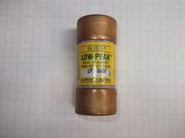 Biztosíték 27x60,4 mm (27x60mm), 50A 600VAC, Bussmann Low Peak LPJ-50SP, G20