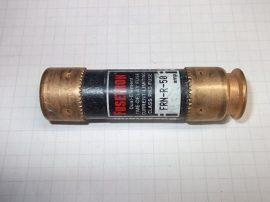 Biztosíték 20,7x76,6 mm, 50A 250VAC, Bussmann Fusetron FRN-R-50
