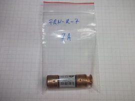 Biztosíték 14,5x50,8 mm, 7A 250VAC, Bussmann Fusetron FRN-R-7 RK5