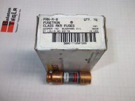 Biztosíték 14,5x50,8 mm, 8A 250VAC, Bussmann Fusetron FRN-R-8 RK5