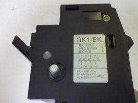 Biztosíték kapcsoló 3 pólusos, 50A 660VAC, Telemecanique GK1-EK, 3db 32A-es biztosítékkal
