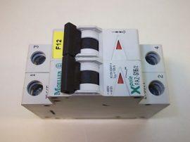 Kismegszakító 2 pólusú, 16A 400/415VAC 5/10kA, Moeller Xpole FAZ-S16/2