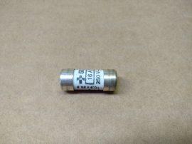 Biztosíték 10,3x25,8 mm, 10,5x25,8 mm, 16A 250VAC, Merlin Gerin NF C 61201 15661, ezüstözött, ipari hengeres kerámia olvadó biztosító