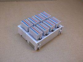 Csatlakozó modul, bus terminal, 64 csatornás digitális bemenet, 24VDC, 3ms szűrési idő, Beckhoff KM1008-0004, XYZ