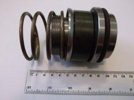 Csúszógyűrűs tömítés, szén/acél, belső/külső átm. 55.85x67.25mm, 34x61.95 (rugós részen) menet: M50x2