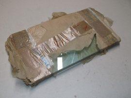 3 rétegű ragasztott üveglap, 18mm vastag, 326x190 mm, Centre Glass XEV175