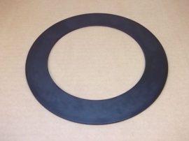 """Gumi tömítő gyűrű, SBR, fekete, 154x220x3mm, 6""""-os tömítés karimás csatlakozásokhoz"""
