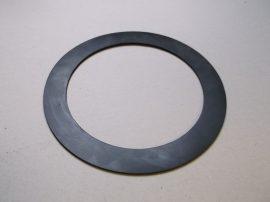 Gumi tömítő gyűrű, NBR, fekete, 168x220x3,2mm, -20..+90°C, karimás csatlakozásokhoz