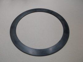Gumi tömítő gyűrű, NBR, fekete, 272x340x3,2mm, -20..+90°C, Eriks Superba, karimás csatlakozásokhoz