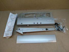 Karos ajtócsukó, felső szerelésű, nyitáscsillapítás, állítható zárás, ezüst színű, Geze TS 4000, 107741