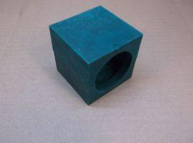 Csőbilincs foglalat puha műanyagból, 46 mm-es külső átmérőjű csőhöz, XYZ