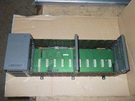 PLC bővítő modul tápegységgel SLC 500, 230VAC/24VDC/5VDC, Allen-Bradley 1746-A10 B, 1746-P2 A x2