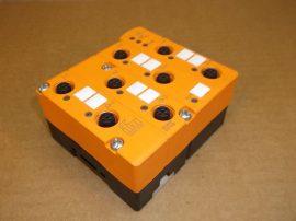 AS-I BUS aktív I/O modul, 4+4 csatornás, M12x1 4DI 4DO, 26,5-31,6VDC 240mA, IFM Electronic AC2509 S-7.O.E Classic Line Modul, E-EMS-BASE FC