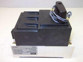 Kézikapcsoló áramkorlátozóval, segédérintkezőkkel 3+2 pólusú, 660VAC 50-70A, AEG MCbs 64