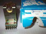 Relé 24VDC 193Ω 801-12CG 24W T-bar