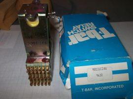 Relé 24VDC 111Ω 901-36CG 24W T-bar