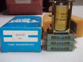Relé 24VDC 111Ω 801-36C 24W T-bar