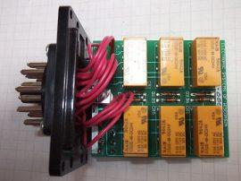 Relé E7452-3, 20 pólusú kerek csatl. DS2E-M-DC24V x 6db. USA