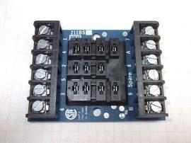 Relé foglalat 11 pólusú 10A 150V Augat RDI 211BS