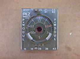 Időrelé modul, 0,04sec - 3sec, Pilz 6745, 0308 P.MODUL, P75