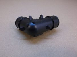 Műanyag (PPSU) Könyök idom vízellátó és radiátoros rendszerekhez, Wisbro / Uponor Q&E könyök idom 25x25, 1008681