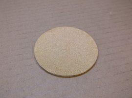 Bronz szűrőbetét, lap, tárcsa, 70x3 mm,