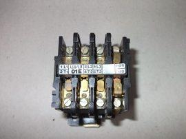 Mágneskapcsoló segédérintkezővel 220VAC, 3 pólusú, 20A, 5,5kW, AEG LS6/L11