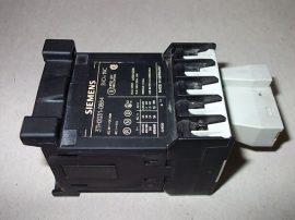 Mágneskapcsoló szupresszor diódával 24VDC, 4 pólusú (3 záró 1 nyitó), 10A, 1,1kW, Siemens 3TH2031-0BB4