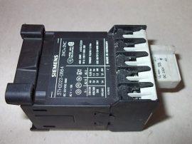 Mágneskapcsoló szupresszor diódával 24VDC, 4 pólusú (2 záró 2 nyitó), 10A, 1,1kW, Siemens 3TH2022-0BB4