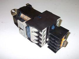 Mágneskapcsoló segédérintkezővel, diódával, 24VDC, 3+5 pólusú 40A, 11kW, Telemecanique LP1 D2510-BD