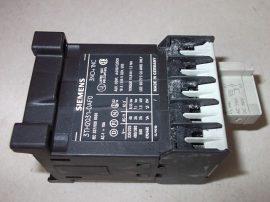 Mágneskapcsoló 115VDC, 4 pólusú (3 záró 1 nyitó) 10A, 1,1kW, Siemens 3TH2031-0AF0