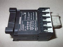 Mágneskapcsoló 115VDC, 4 pólusú (4 záró) 10A, 1,1kW, Siemens 3TH2040-0AF0