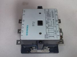 Mágneskapcsoló segédérintkezővel 110VAC, 3 pólusú (3 záró) 150A, 55kW, Siemens 3TF50