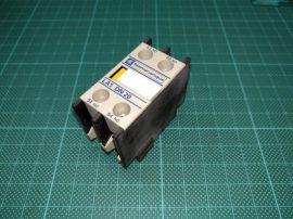 Segédérintkező mágneskapcsolóhoz, 2NO, Telemecanique LA1DN20, 2 pólusú (2 záró) 10A