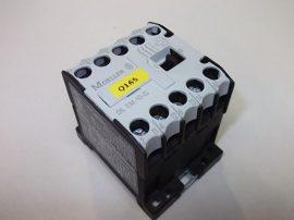 Mágneskapcsoló segédérintkezővel 24VDC, 3 pólusú (3 záró) 8,8 A, 4kW, Moeller DIL EM-10-G