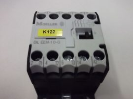 Mágneskapcsoló segédérintkezővel 24VDC, 3 pólusú (3 záró) 6,6 A, 3kW, Moeller DIL EEM-10-G
