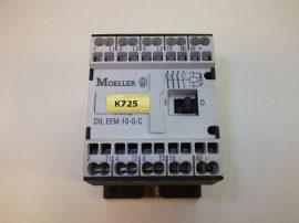 Mágneskapcsoló segédérintkezővel 24VDC, 3+1 pólusú 6,6A, 3kW, Moeller DIL EEM-10-G-C