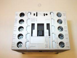 Mágneskapcsoló segédérintkezővel 24VDC, 3+1 pólusú 6,6A, 3kW, Moeller DIL M7-10