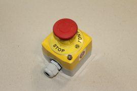 Kulcsos kapcsoló 2 állású 1 pólusú (NO) 400VAC 10A Telemecanique ZB2-BE101+ ZB2BG2, ZB2BZ009