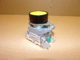 Nyomógomb egység, nyitó (1xNC), piros 400VAC 10A Telemecanique ZB2-BE102+ ZB2BL4, ZB2BZ009
