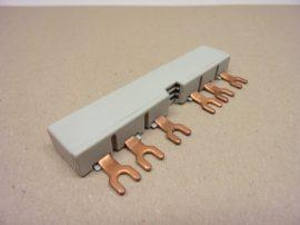 Flexibilis réz sín szigetelt, 400A 1000V, 24x5x1800 mm, Merlin Gerin 04746