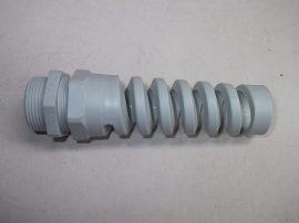 Tömszelence törésgátlós, szürke, kábel: 13-18mm, M25x1,5 HSK-Flex Pg21, 1.293.2500.50
