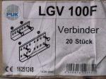PUK LGV-100F kábellétra toldó szett, tüzihorganyzott, 100x220 mm, 16251248