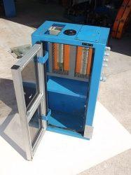 Elektromos elosztó szekrény sorkapcsokkal, üres hellyel, 400x800x240 mm