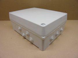 Kapcsoló szekrény, elosztó lemez szekrény kefés kábelátvezetővel, 500x500x210mm, Rittal AE1050