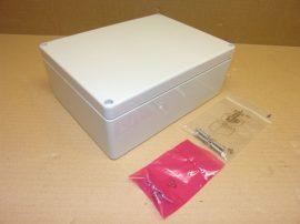 Kapcsoló szekrény, elosztó lemez szekrény, 500x500x210mm, Rittal AE 1050 , tömszelencékkel